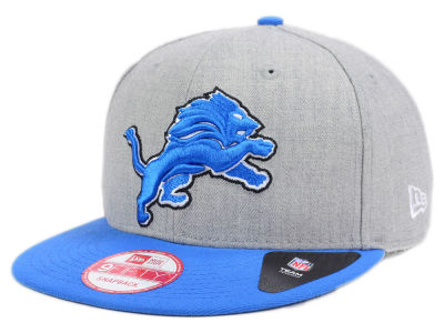 Detroit Lions New Era NFL Heather 2 Tone 9FIFTY Snapback