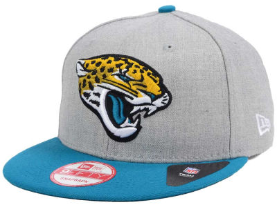 Jacksonville Jaguars New Era NFL Heather 2 Tone 9FIFTY Snapback