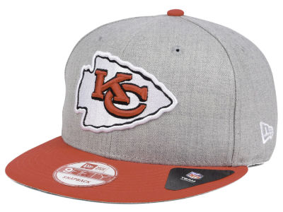 Kansas City Chiefs New Era NFL Heather 2 Tone 9FIFTY Snapback