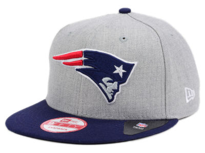 New England Patriots New Era NFL Heather 2 Tone 9FIFTY Snapback