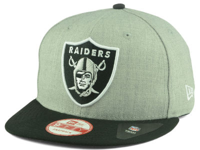 Oakland Raiders New Era NFL Heather 2 Tone 9FIFTY Snapback