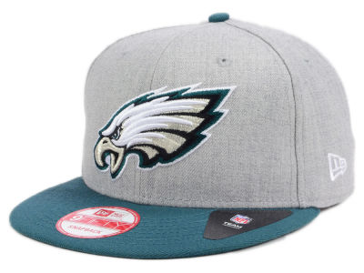 Philadelphia Eagles New Era NFL Heather 2 Tone 9FIFTY Snapback