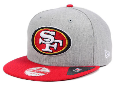 San Francisco 49ers New Era NFL Heather 2 Tone 9FIFTY Snapback