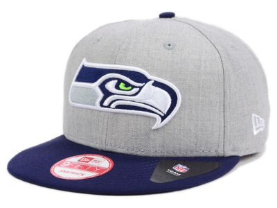 Seattle Seahawks New Era NFL Heather 2 Tone 9FIFTY Snapback