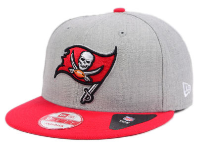 Tampa Bay Buccaneers New Era NFL Heather 2 Tone 9FIFTY Snapback