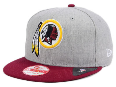 Washington Redskins New Era NFL Heather 2 Tone 9FIFTY Snapback