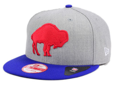 Buffalo Bills New Era NFL Heather 2 Tone 9FIFTY Snapback