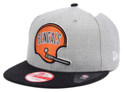Cincinnati Bengals New Era NFL Heather 2 Tone 9FIFTY Snapback