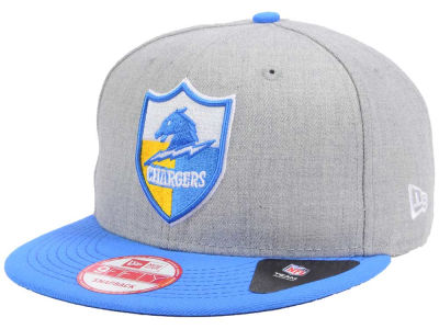 Los Angeles Chargers New Era NFL Heather 2 Tone 9FIFTY Snapback