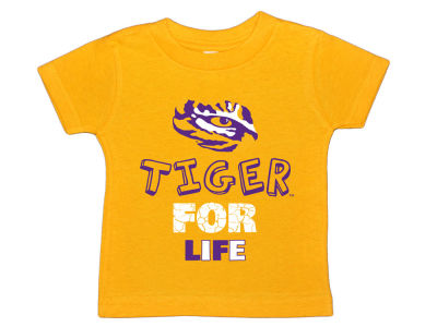 LSU Tigers NCAA Toddler For Life T-Shirt