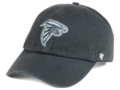 Atlanta Falcons '47 NFL Charcoal White '47 CLEAN UP Cap