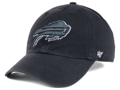 Buffalo Bills '47 NFL Charcoal White '47 CLEAN UP Cap