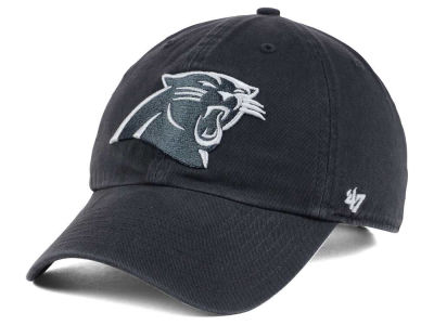 Carolina Panthers '47 NFL Charcoal White '47 CLEAN UP Cap