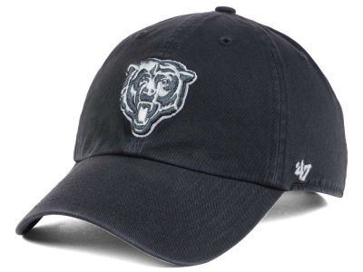 Chicago Bears '47 NFL Charcoal White '47 CLEAN UP Cap