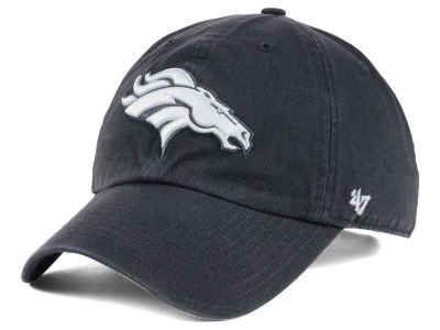 Denver Broncos '47 NFL Charcoal White '47 CLEAN UP Cap