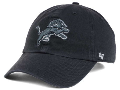 Detroit Lions '47 NFL Charcoal White '47 CLEAN UP Cap