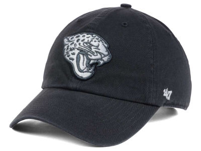 Jacksonville Jaguars '47 NFL Charcoal White '47 CLEAN UP Cap