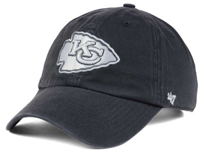 Kansas City Chiefs '47 NFL Charcoal White '47 CLEAN UP Cap