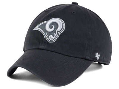Los Angeles Rams '47 NFL Charcoal White '47 CLEAN UP Cap