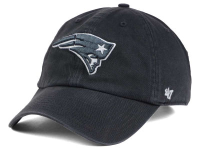 New England Patriots '47 NFL Charcoal White '47 CLEAN UP Cap