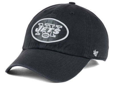 New York Jets '47 NFL Charcoal White '47 CLEAN UP Cap