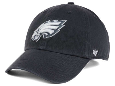 Philadelphia Eagles '47 NFL Charcoal White '47 CLEAN UP Cap