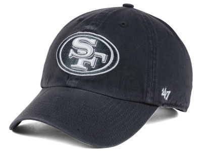 San Francisco 49ers '47 NFL Charcoal White '47 CLEAN UP Cap