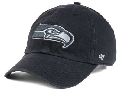 Seattle Seahawks '47 NFL Charcoal White '47 CLEAN UP Cap