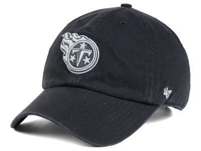 Tennessee Titans '47 NFL Charcoal White '47 CLEAN UP Cap