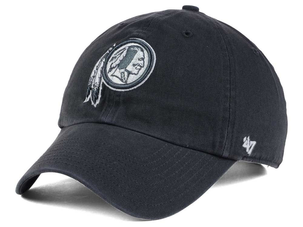 low priced 5b328 fb418 ... get washington redskins 47 nfl charcoal white 47 clean up cap e1e4b  50658
