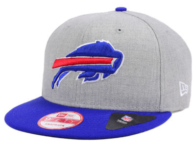 Buffalo Bills New Era NFL Kids Heather 2 Tone 9FIFTY Snapback Cap