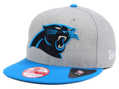 Carolina Panthers New Era NFL Kids Heather 2 Tone 9FIFTY Snapback Cap