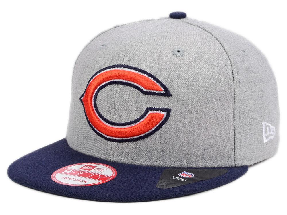 0ea496dc9 Chicago Bears New Era NFL Kids Heather 2 Tone 9FIFTY Snapback Cap ...