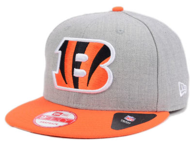Cincinnati Bengals New Era NFL Kids Heather 2 Tone 9FIFTY Snapback Cap