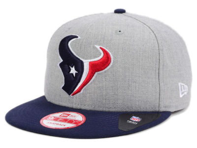 Houston Texans New Era NFL Kids Heather 2 Tone 9FIFTY Snapback Cap