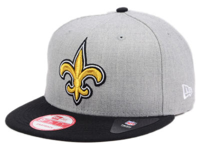 New Orleans Saints New Era NFL Kids Heather 2 Tone 9FIFTY Snapback Cap