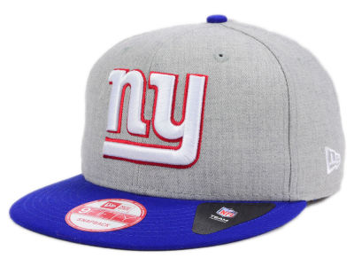New York Giants New Era NFL Kids Heather 2 Tone 9FIFTY Snapback Cap