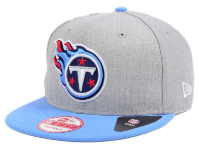 Tennessee Titans New Era NFL Kids Heather 2 Tone 9FIFTY Snapback Cap