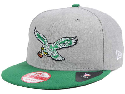 Philadelphia Eagles New Era NFL Kids Heather 2 Tone 9FIFTY Snapback Cap