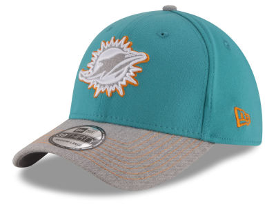 Miami Dolphins New Era NFL Heather 39THIRTY Cap