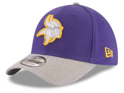 Minnesota Vikings New Era NFL Heather 39THIRTY Cap
