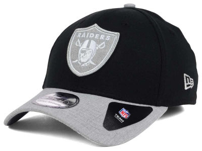 Oakland Raiders New Era NFL Heather 39THIRTY Cap