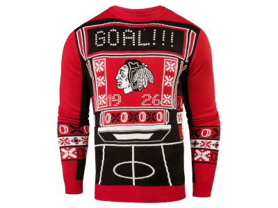 Chicago Blackhawks NHL Men's Light Up Ugly Sweater