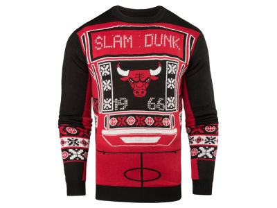 Chicago Bulls NBA Men's Light Up Ugly Sweater