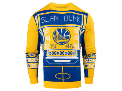 Golden State Warriors NBA Men's Light Up Ugly Sweater