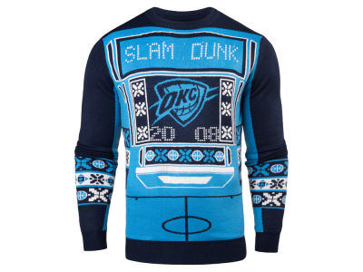 Oklahoma City Thunder NBA Men's Light Up Ugly Sweater