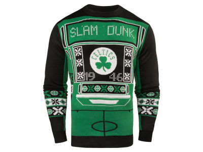 Boston Celtics NBA Men's Light Up Ugly Sweater