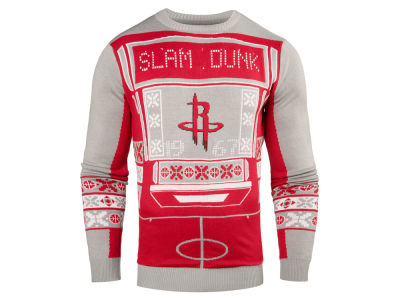 Houston Rockets NBA Men's Light Up Ugly Sweater