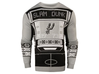 San Antonio Spurs NBA Men's Light Up Ugly Sweater