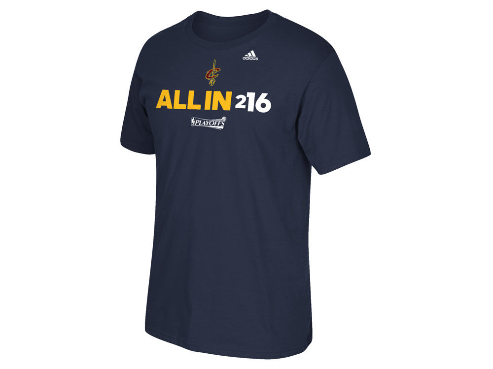Cleveland Cavaliers adidas NBA Mens All In 216 T-Shirt | lids.com